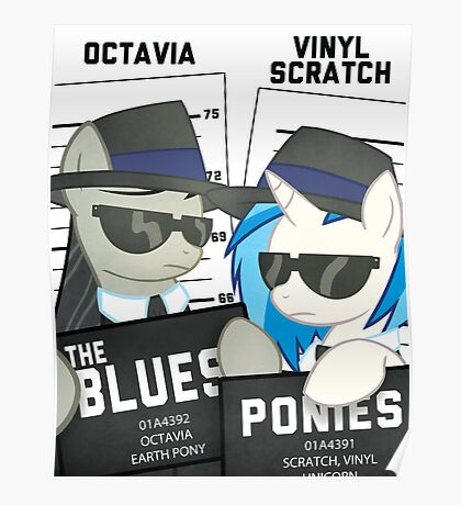 The Blues Ponies Poster