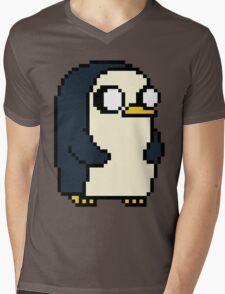 Gunther Pixel Mens V-Neck T-Shirt