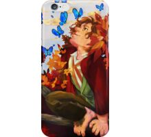Bilbo and Butterflies iPhone Case/Skin