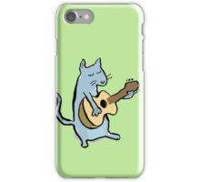 cat serenade iPhone Case/Skin