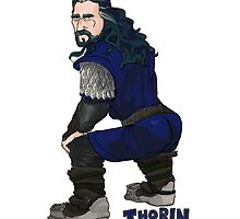 Thorin Twerkinshield by ewelock