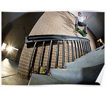Rod Harper - Kickflip backside 5-0 Poster