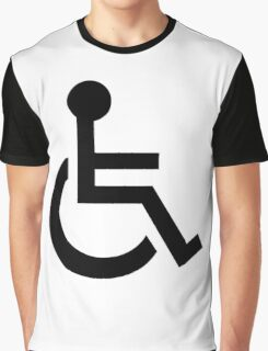 Disabled Symbol Graphic T-Shirt