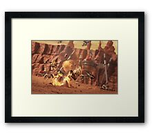 Battle of Geonosis Framed Print