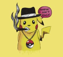 Pikachu Pimpin' Ain't Easy by demoose