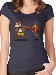 Banjo KaWHOee Women's Fitted Scoop T-Shirt