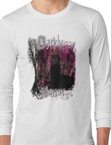 Pink Darkly Manor Long Sleeve T-Shirt