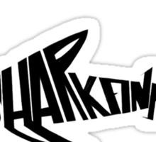 Stop Shark Finning (black) Sticker