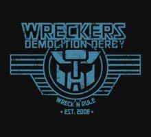 Wreck 'n' Rule - Blue T-Shirt