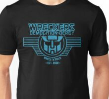 Wreck 'n' Rule - Blue Unisex T-Shirt