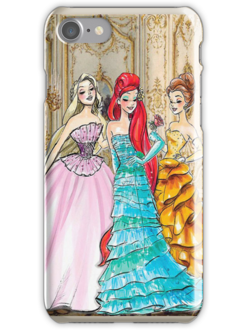 Couture Disney Princesses by libbbyr