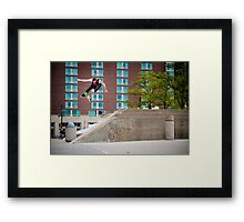 Johnny Layton - Switch 360 Flip Framed Print
