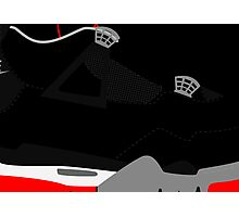 Made in China IV Black/Cement Size US 9.5 - Pop Art, Sneaker Art, Minimal Photographic Print