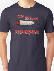 Old School Fisherman T-shirt Unisex T-Shirt