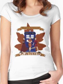 Clara and The Doctors Women's Fitted Scoop T-Shirt