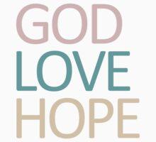 God Love Hope Baby Tee