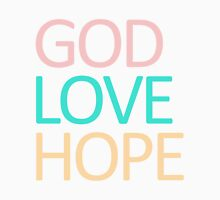 God Love Hope Womens Fitted T-Shirt