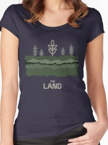 The Land Women's Fitted Scoop T-Shirt