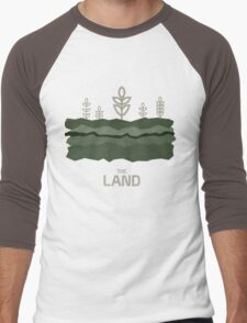 The Land Men's Baseball ¾ T-Shirt