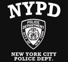 NYPD - New York City Police Dept. by avdesigns