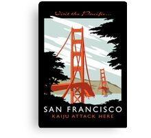 Visit The Pacific Print Canvas Print