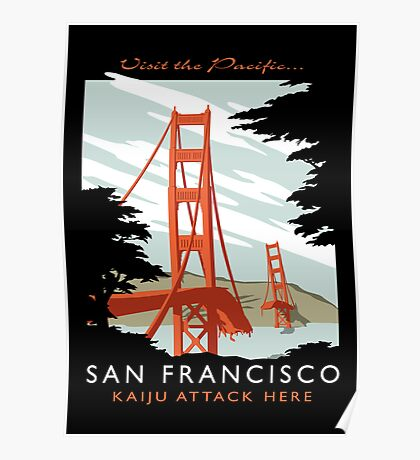 Visit The Pacific Print Poster