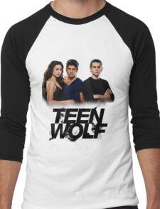 Teen Wolf Inspired - Original Cast Season 1-3 Men's Baseball ¾ T-Shirt