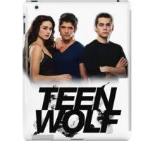 Teen Wolf Inspired - Original Cast Season 1-3 iPad Case/Skin
