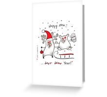 Happy New! Greeting Card