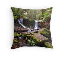 Horseshoe Falls - Mt Field National Park - Tasmania Throw Pillow