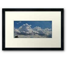 ©HCS Cloudscape And Tree Framed Print