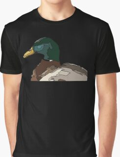 Abstract Graphic Duck Graphic T-Shirt