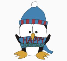 Penguin's Happy Christmas Kids Clothes