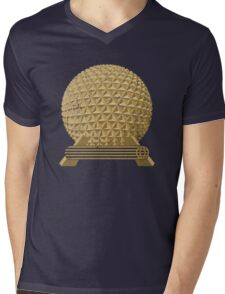 EPCOT Icon: SE Mens V-Neck T-Shirt