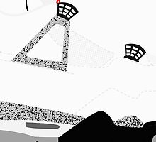 Made in China IV White/Cement Size US 9.5 - Pop Art, Sneaker Art, Minimal by roctobot