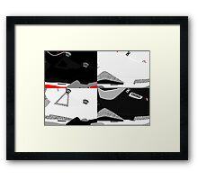 Made in China - Cement Pack Sample Sizes - Pop Art, Sneaker Art, Minimal Framed Print