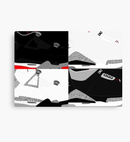 Made in China - Cement Pack Sample Sizes - Pop Art, Sneaker Art, Minimal Canvas Print