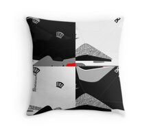 Made in China - Cement Pack Sample Sizes - Pop Art, Sneaker Art, Minimal Throw Pillow