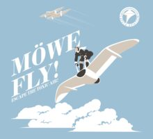 Nausicaa Mowe Fly by Crocktees