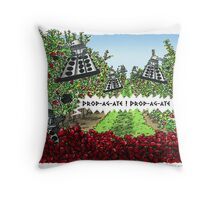 The Orchards of Skaro Throw Pillow