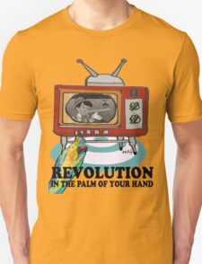 Revolution! in the palm of your hand. Unisex T-Shirt