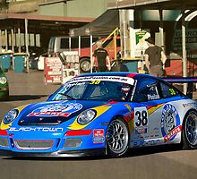 Porsche in the pits by Stuart Row