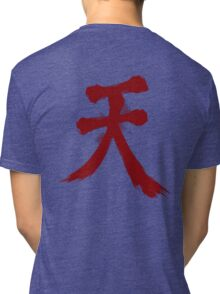 Street Fighter Akuma  Tri-blend T-Shirt