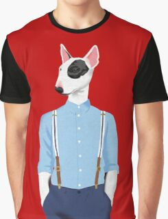 Skinhead Bull Terrier Graphic T-Shirt