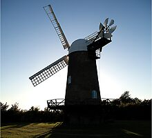 Wilton Windmill evening shadows 3 by J-images