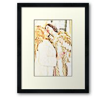 Lovers in fur Framed Print