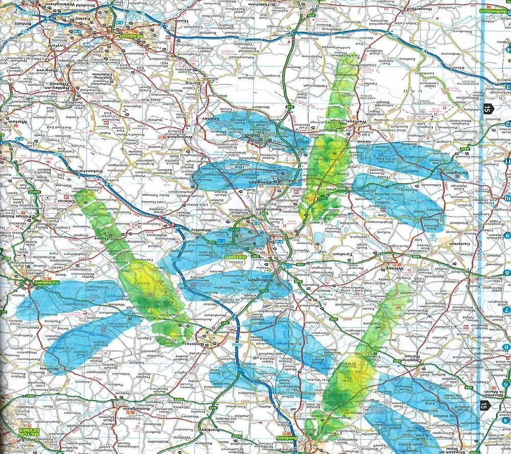 Dragonfly Maps by gemkim