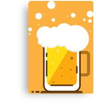 Beer Mug  Canvas Print