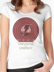 Universe of Energy Women's Fitted Scoop T-Shirt