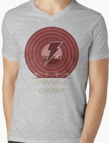 Universe of Energy Mens V-Neck T-Shirt